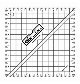 "Bloc Loc Half Square Triangle Ruler 6.5"" HST 65"