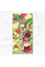 PD's Martha Negley Collection Veggies, Mixed Vegetables in Bright, Dinner Napkin