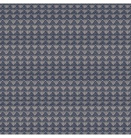 Alexia Abegg Warp and Weft Wovens, Mountain in Navy, Fabric Half-Yards RS4007 11