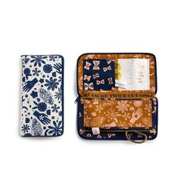 Moda Sewing Wallet in Indigo, Alexia Abegg for Ruby Star Society