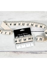"""Canvas 60"""" Tape Measure, Measure Up, from Moda"""