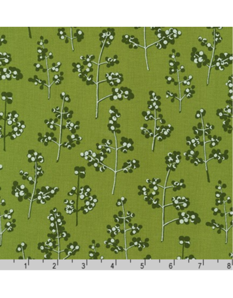 Jennifer Sampou Winter Shimmer 2, Holly Berry in Holly, Fabric Half-Yards AJSP-19945-240