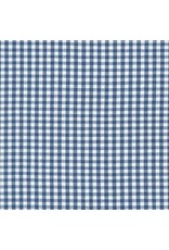 "Robert Kaufman Carolina Gingham, 1/8"" in Denim, Lightweight Yarn Dyed Woven, Fabric Half-Yards P-5689-67"
