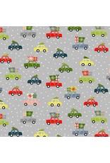 Andover Fabrics Joy, Cars in Grey, Fabric Half-Yards TP-2232-S