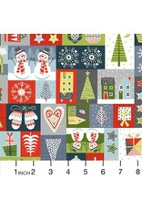 Christmas Collection Joy, Montage in Multi, Dinner Napkin