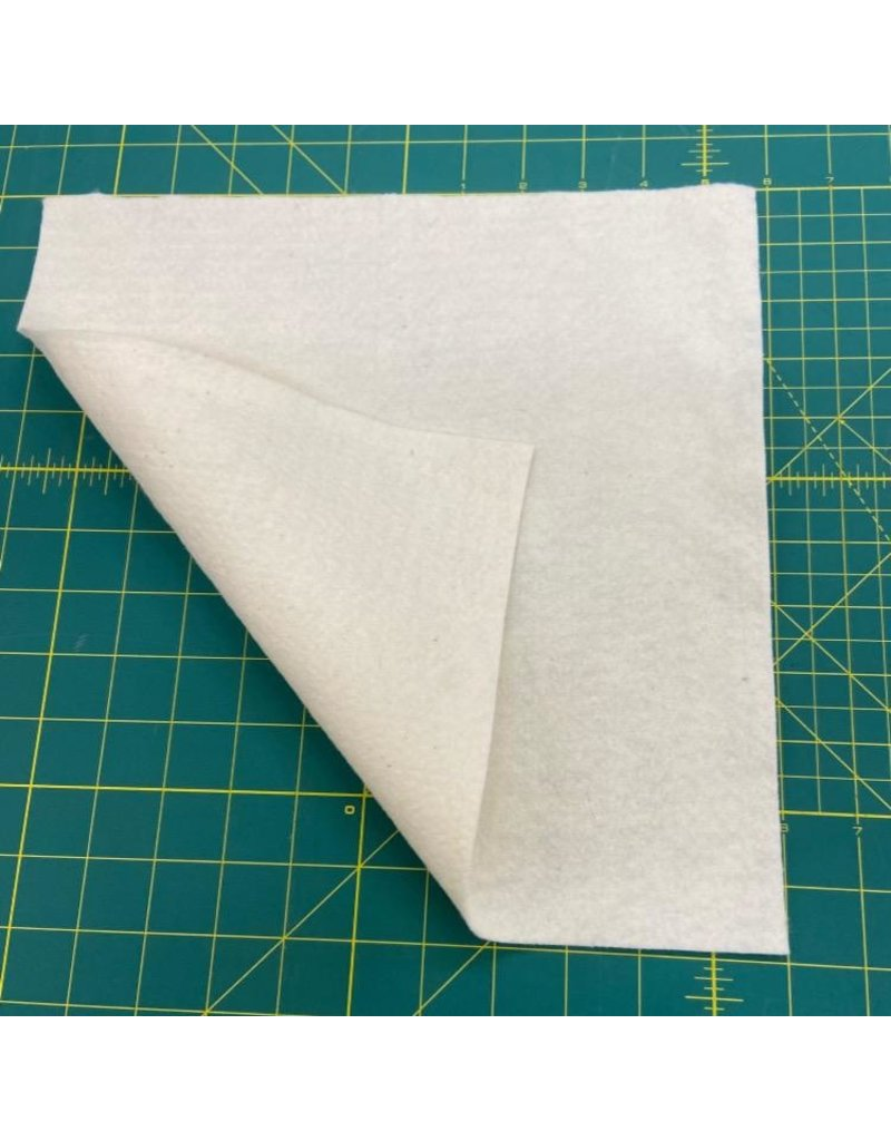 "Cotton Batting 12"" Square (enough for 2 face masks) - Quilters Dream Cotton Thin Weight, 100% Cotton"