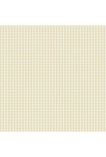 Cotton + Steel Dusk till Dawn, Moonchild in Grass on Unbleached Cotton, Fabric Half-Yards HJ105-GR5U