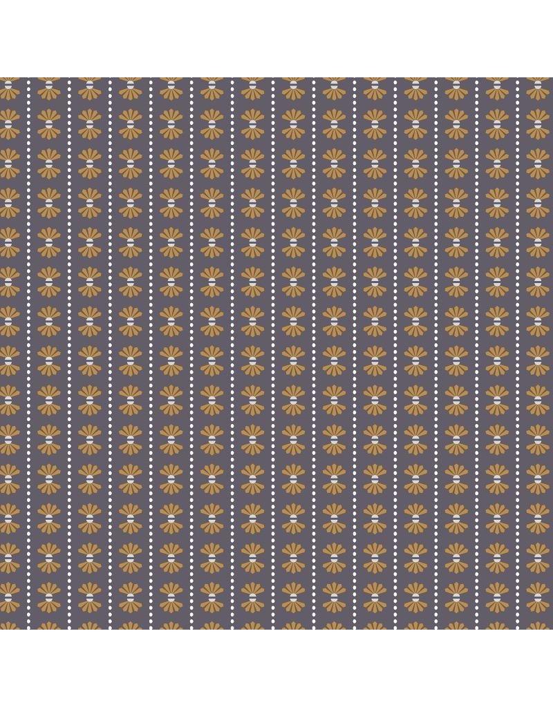 RJR Fabrics Dusk till Dawn, Moon Flower in Shadow, Fabric Half-Yards HJ102-SH2