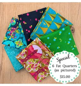 Picking Daisies Fat Quarter Bundle Special - 6 pcs.