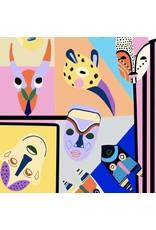 Alexander Henry Fabrics Africa, Spirit Guides in Multi, Fabric Half-Yards 8800A