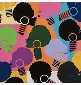 Alexander Henry Fabrics Africa, Electra Mosaic in Multi, Fabric Half-Yards 8797A