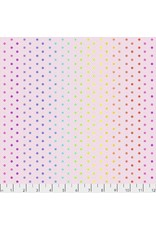 Tula Pink Tula's True Colors, Hexy Rainbow in Shell, Fabric Half-Yards PWTP151