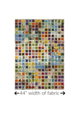 """Marcia Derse Curiosity, Field Guide: To Art History 101 in Multi, Fabric Half-Yards 51956D (32"""" CUT REMAINING)"""