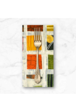 PD's Marcia Derse Collection Curiosity, Field Guide: To Art History 101 in Multi, Dinner Napkin