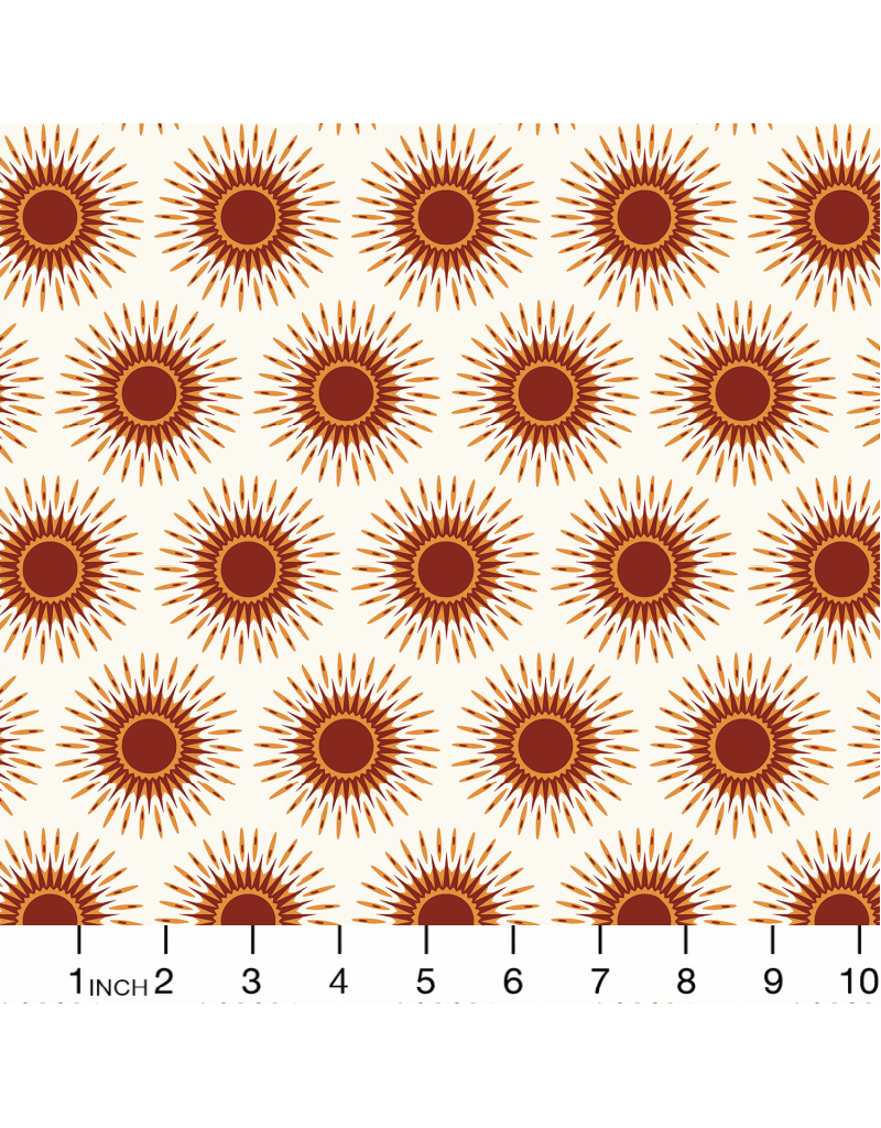 RJR Fabrics Lil' Bit Country, Sunny Days in Heatwave, Fabric Half-Yards RJ1903-HE1