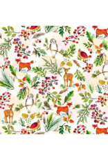 August Wren December to Remember, Winter Wonderland, Fabric Half-Yards STELLA-DAW1580