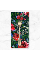 Christmas Collection December to Remember, Holiday Blooms, Dinner Napkin