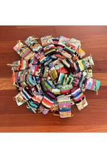 """7"""" Fabric Cut Squares, bundled in a set of 8"""