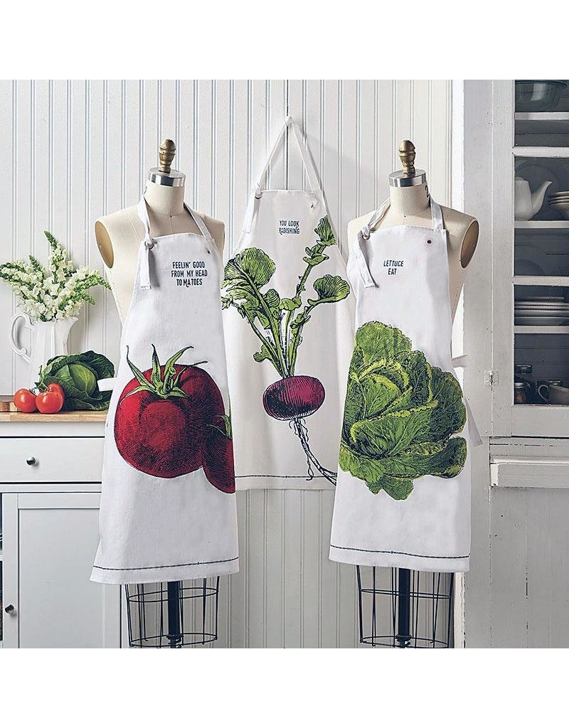 "BACK IN STOCK LATE OCTOBER-Farm to Table, Apron in a Mason Jar ""Feelin' Good From My Head Tomatoes"""