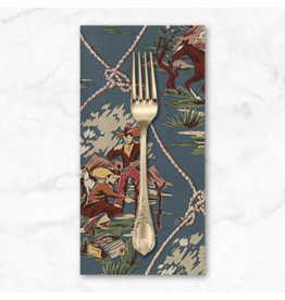 PD's Alexander Henry Collection Santa Fe, Roping Ranch in Chambray, Dinner Napkin