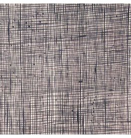 Alexander Henry Fabrics Heath in Bone/Black, Fabric Half-Yards 6883 ZJ