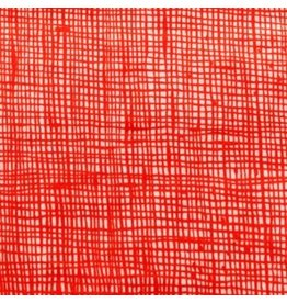 Alexander Henry Fabrics Heath in Natural/Red, Fabric Half-Yards 6883 23