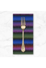 PD's Kaffe Fassett Collection Kaffe Collective 2020, Diamond Stripe in Moody, Dinner Napkin
