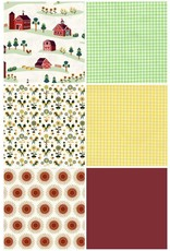 Picking Daisies Lil' Bit Country, Fat Quarter Bundle containing 6 pcs.