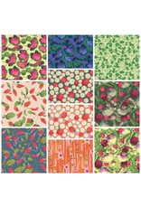 Picking Daisies Veggies by Martha Negley, Fat Quarter Bundle containing 10 pcs. (full collection)