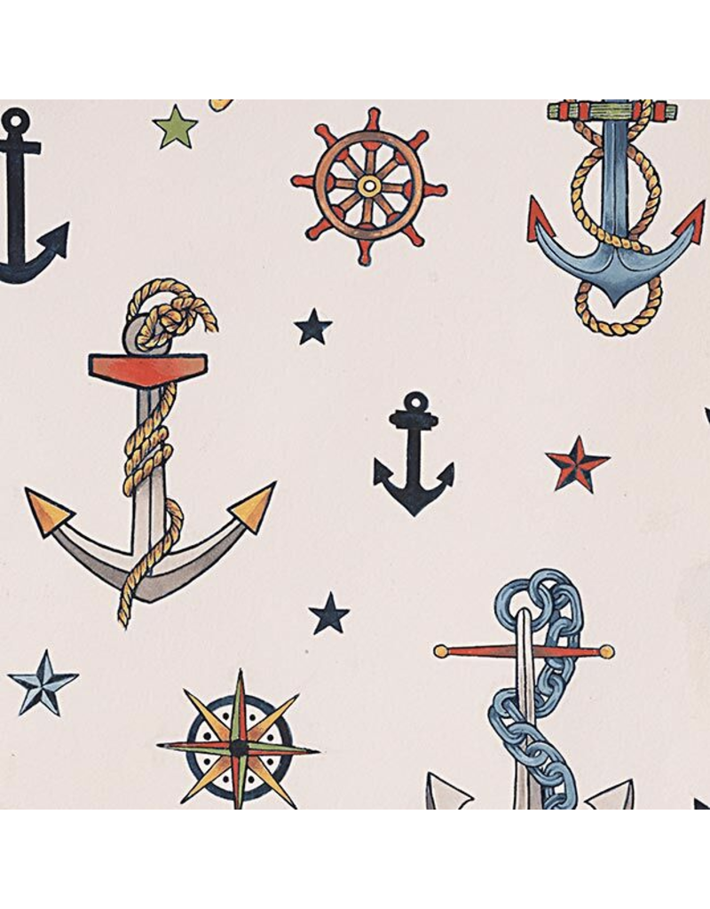 Alexander Henry Fabrics Nicole's Prints, Rise and Shine, Anchored in Tea, Fabric Half-Yards 8835 A