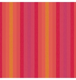 Alison Glass Kaleidoscope Stripes and Plaids, Stripes in Sunrise, Fabric Half-Yards WV-9540