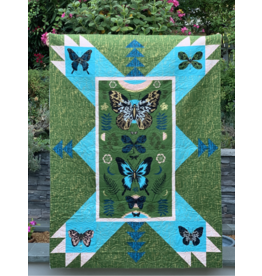 "Sarah Watts Magic Butterfly Quilt Kit - Fabric to make the 50"" x 70.5"" quilt top as pictured + FREE Pattern"