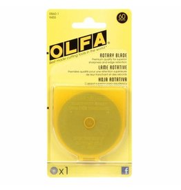 Olfa Rotary Replacement Blade 60mm - 1ct