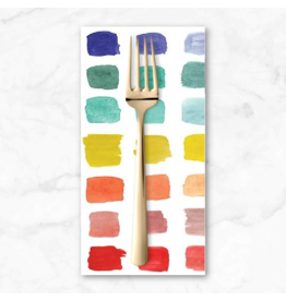 PD's The Paper Curator Collection Ink Unleashed, Beautiful Palette in Multi, Dinner Napkin
