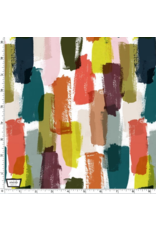 PD's The Paper Curator Collection Ink Unleashed, Simple Brush in Multi, Dinner Napkin