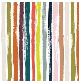 The Paper Curator Ink Unleashed, Elegant Lines in Multi, Fabric Half-Yards DC9323
