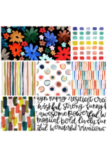 Picking Daisies Ink Unleashed, Fat Quarter Bundle containing 7 pcs.