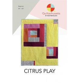 Quiltachusetts Quiltachusetts's Citrus Play Quilt Pattern