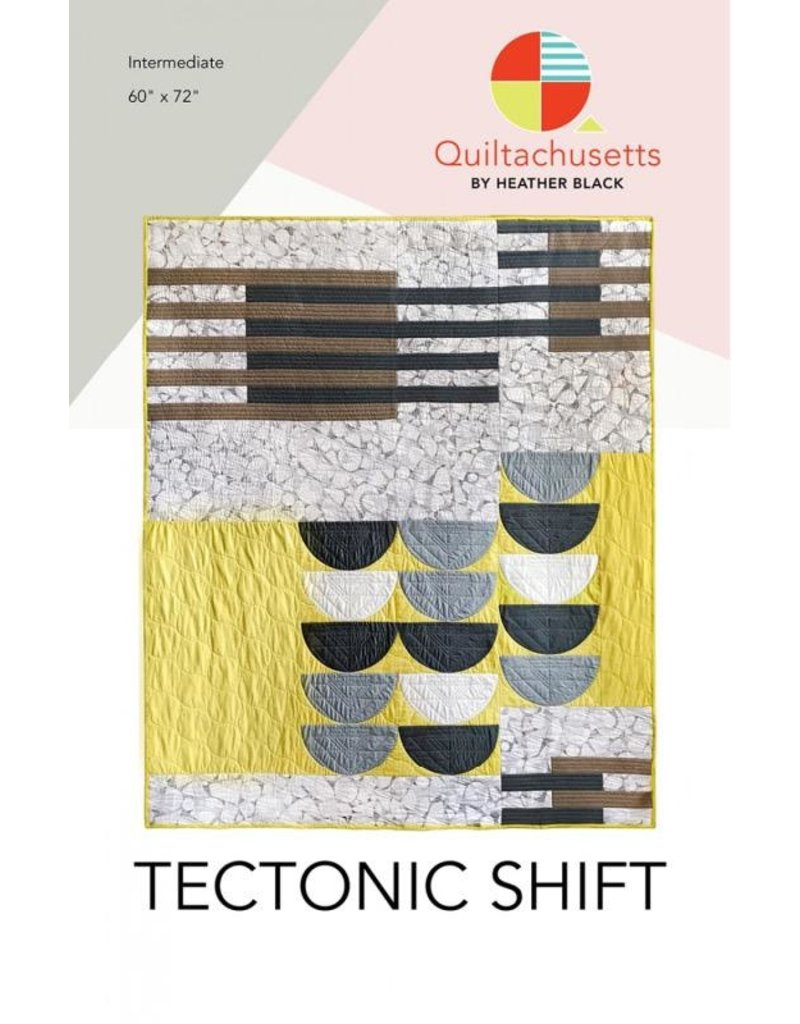 Quiltachusetts Quiltachusetts's Tectonic Shift Quilt Pattern