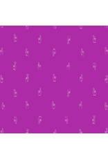 Figo Lucky Charms, Fingers Crossed in Magenta, Fabric Half-Yards 92001-83