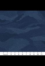 Figo Elements, Earth in Navy, Fabric Half-Yards 92007-49