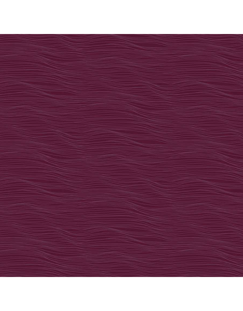 Figo Elements, Water in Plum, Fabric Half-Yards 92008-85