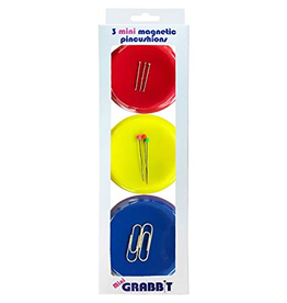 Grabbit® Mini Magnetic Pincushions - Set of 3