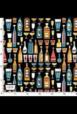 Kitschy Cocktails, Mothers Little Helper, Set of 6 Cocktail Napkins