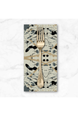 PD's Giucy Giuce Collection Prism, Splatter in Stone, Dinner Napkin