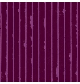 Giucy Giuce Prism, Striped in Mulled Wine, Fabric Half-Yards A-9575-P
