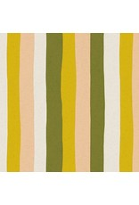 Sarah Golden Perennial, Stripes in Citrus, Fabric Half-Yards A-9570-CE