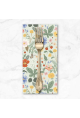 PD's Rifle Paper Co Collection Strawberry Fields, Floral in Mint, Dinner Napkin