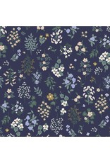 Rifle Paper Co. Strawberry Fields, Hawthorne in Navy, Fabric Half-Yards RP401-NA2