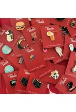 Food & Drink Themed Enamel Pins - 5 pcs. Assorted